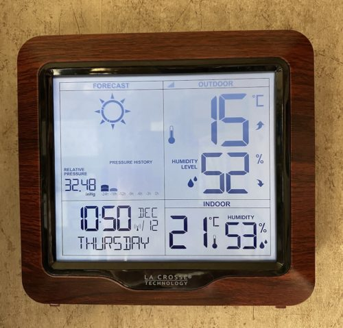 best indoor outdoor wireless digital weather station with forecast for home and rv camper the camping nerd