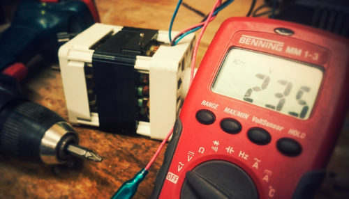 Deep cycle battery monitor