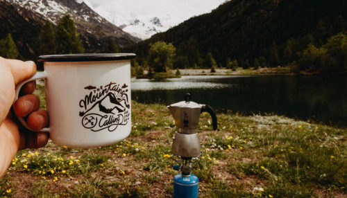 Moka Camping Coffee Maker