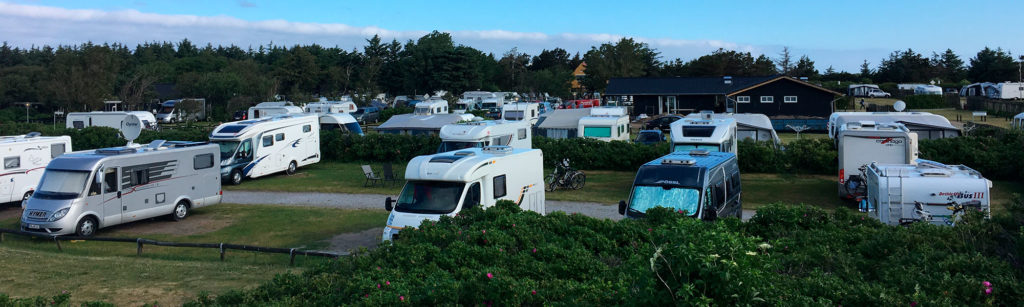 RV park with lots of campers