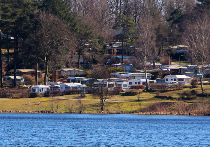 Large RV park with lots of RVs means an RV autoformer may be needed