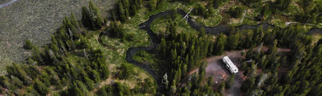 free-camping-near-yellowstone-fish-creek-rd-review-info