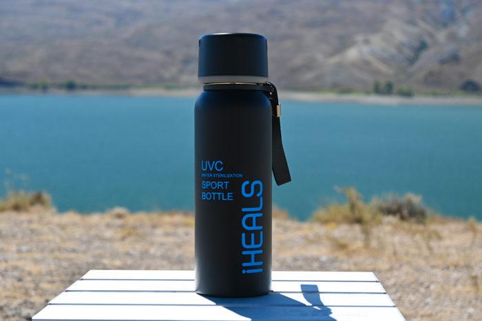 Maxoak iHeals UVC Water Sterilization Sport Bottle