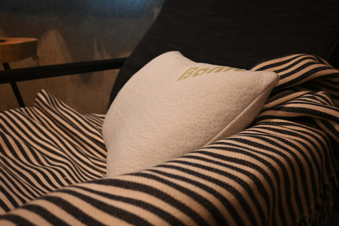 The bamboo pillowcase on the Outbright memory foam pillow is soft and cool.