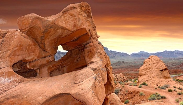Red rocks at Valley of Fire State Park in Nevada.