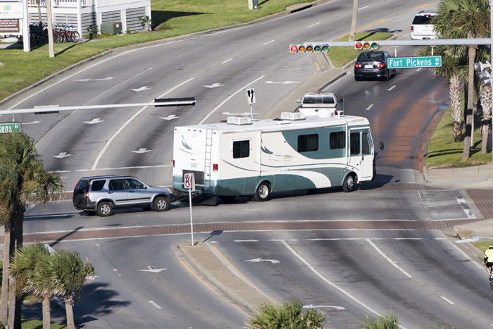 Auxiliary braking systems when flat towing behind your RV are required by law in most states.