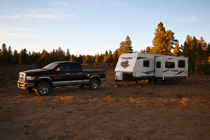Passengers, cargo, and hitch weight all affect the towing capacity of a truck.