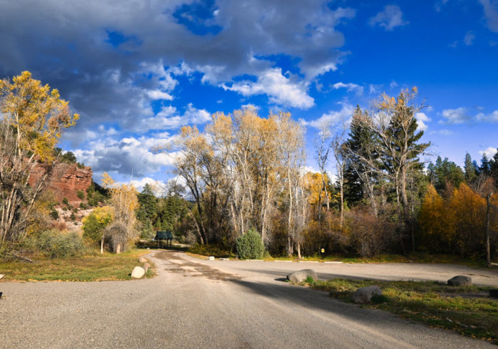 Caddis Flats Campground in Colorado