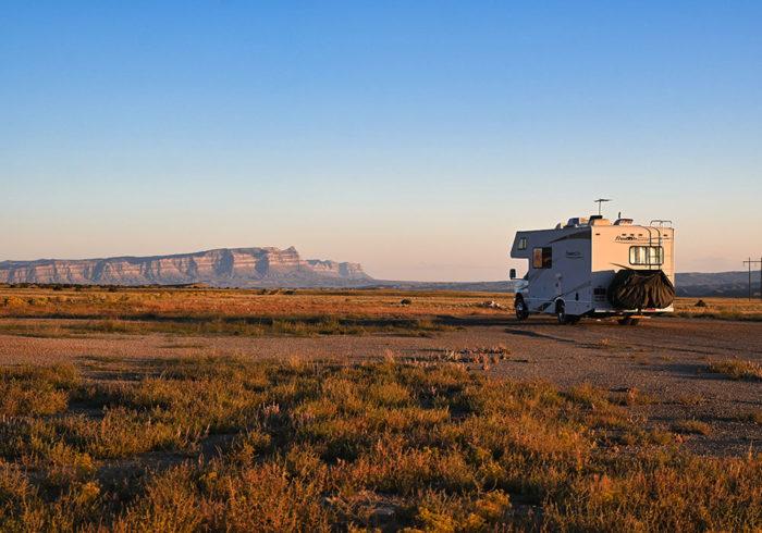 Camping at Horse Canyon Road Dispersed Utah